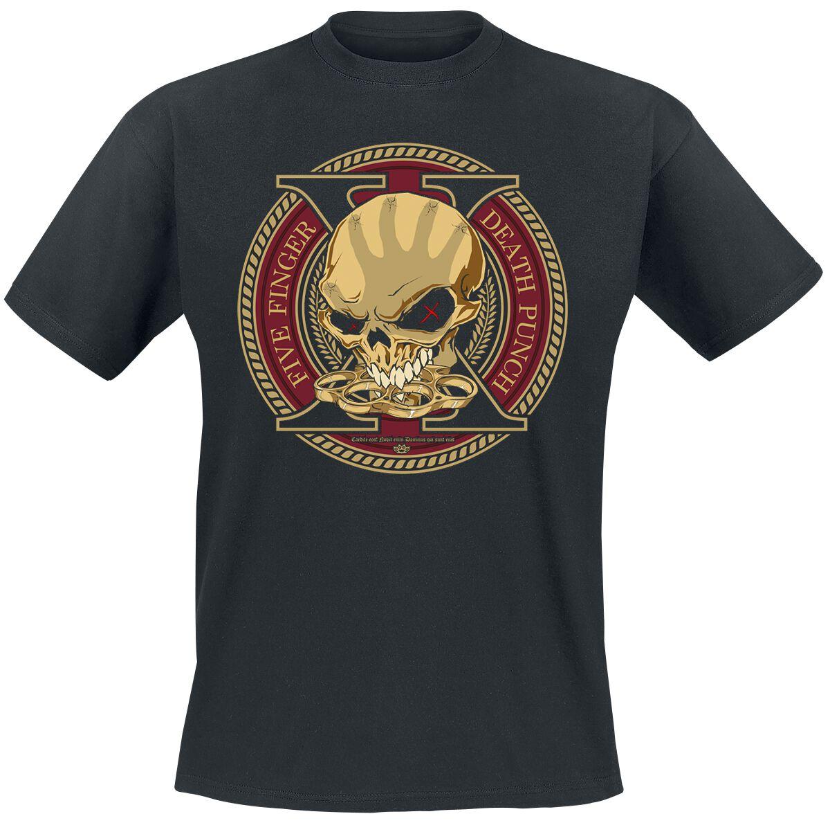 Image of   Five Finger Death Punch Decade Of Destruction T-Shirt sort