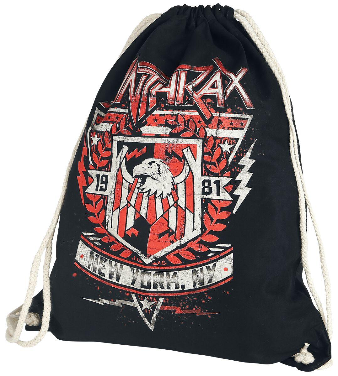 Zespoły - Torby i Plecaki - Torba treningowa Anthrax '81 Crest Torba treningowa czarny - 372148