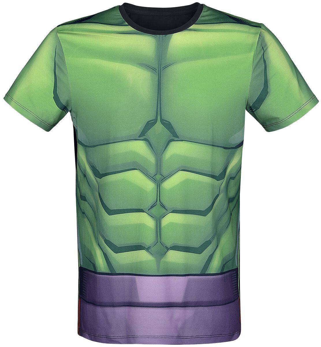 Merch dla Fanów - Koszulki - T-Shirt Hulk Cosplay T-Shirt wielokolorowy - 372191