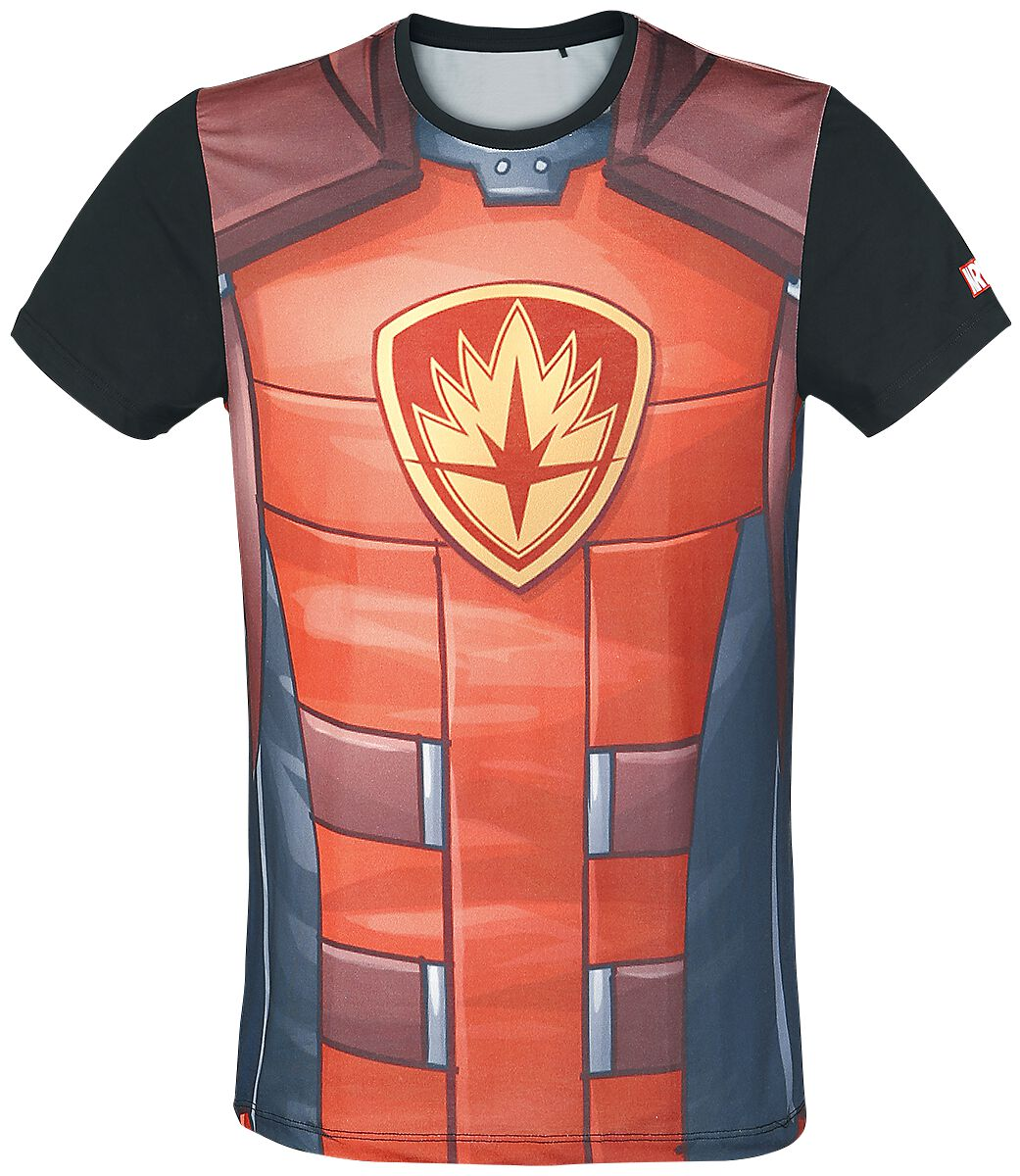 Image of   Guardians Of The Galaxy Rocket - Cosplay T-Shirt multifarvet