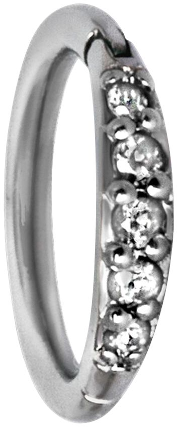 Steel Basicline® Pave Setting Crystals Top Pier...