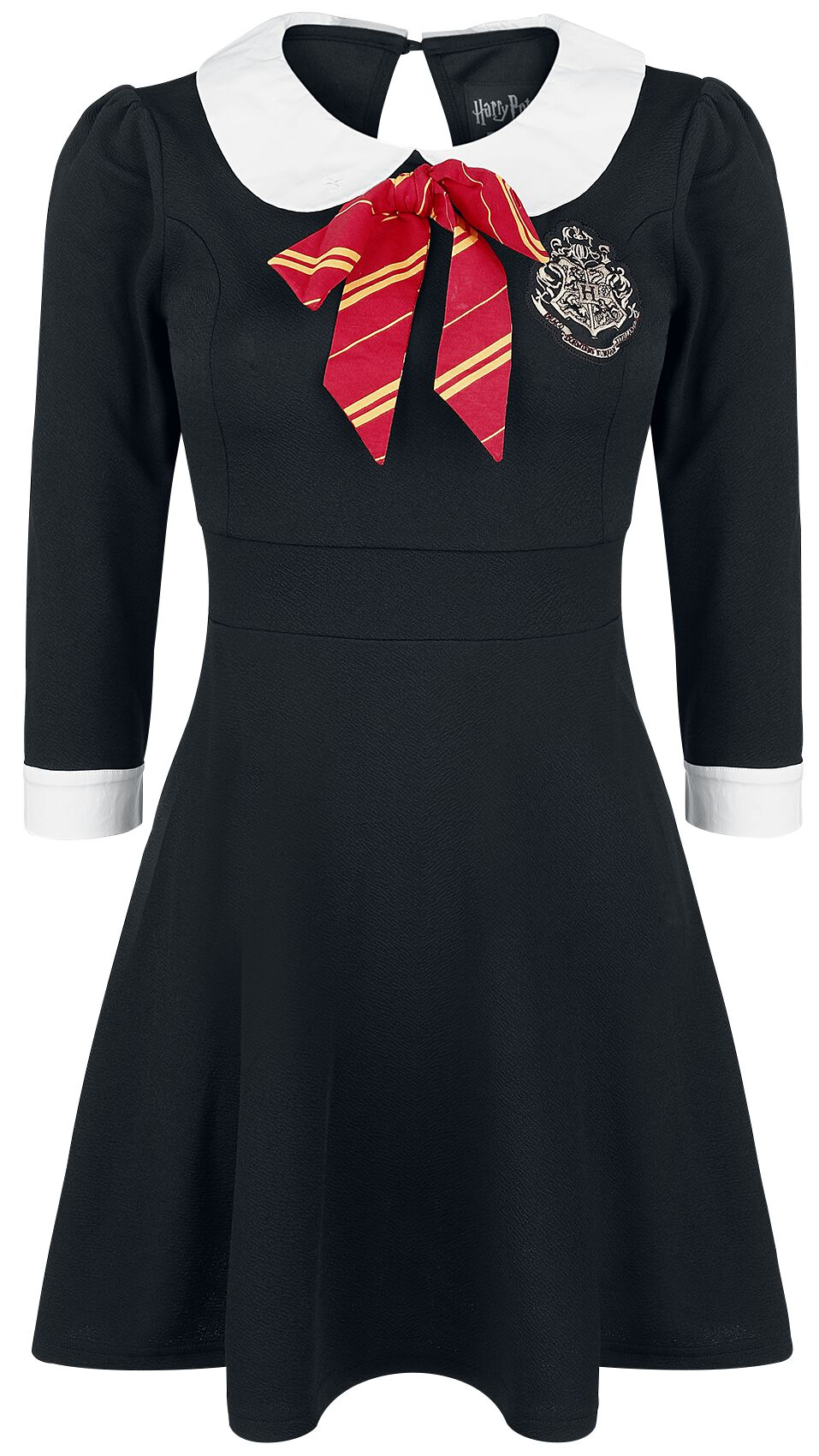 Harry Potter Hauskleid Sukienka czarny