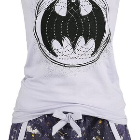 Batman Mystic Pyjama lilas