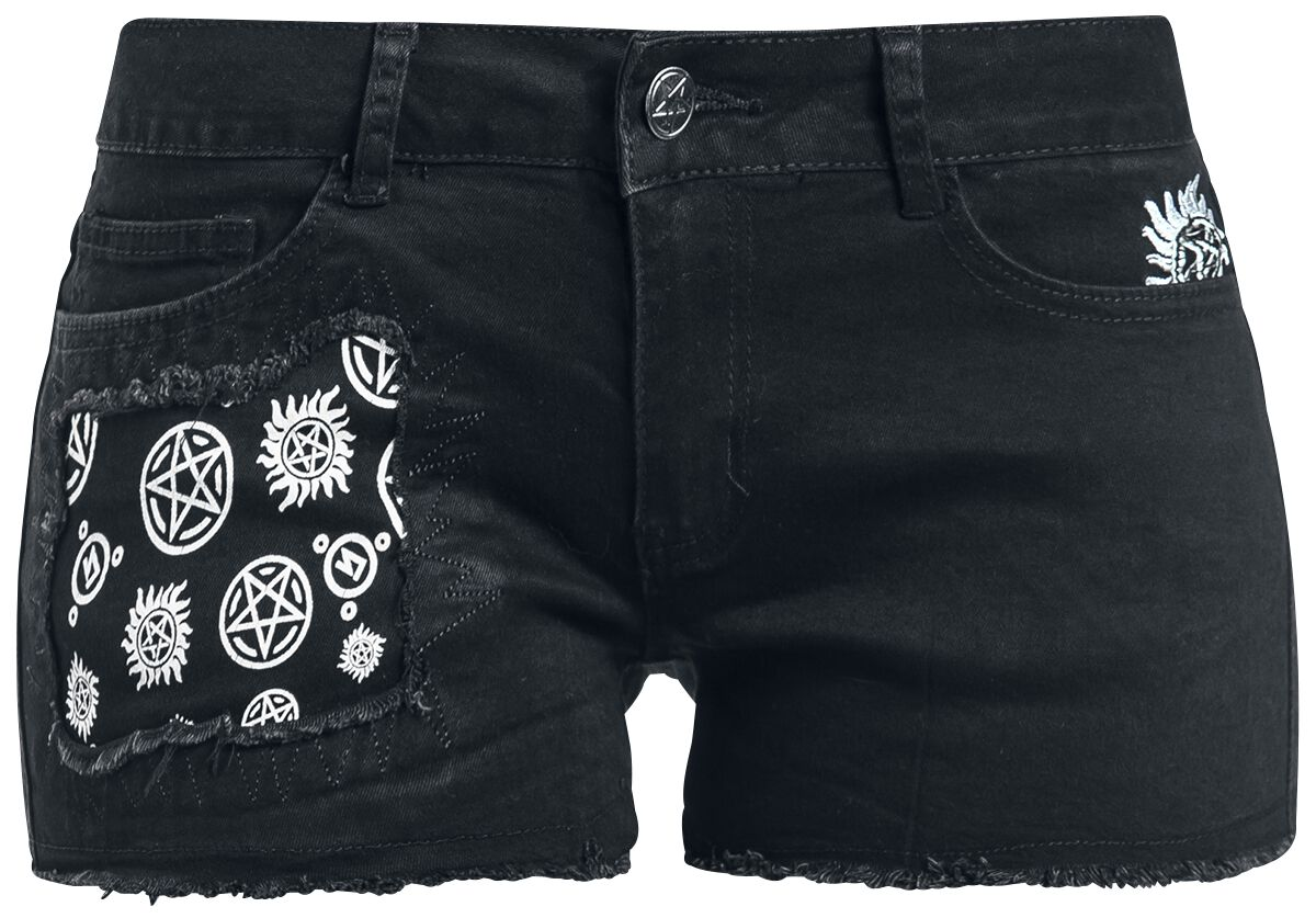 Image of   Supernatural Join The Hunt Girlie shorts sort