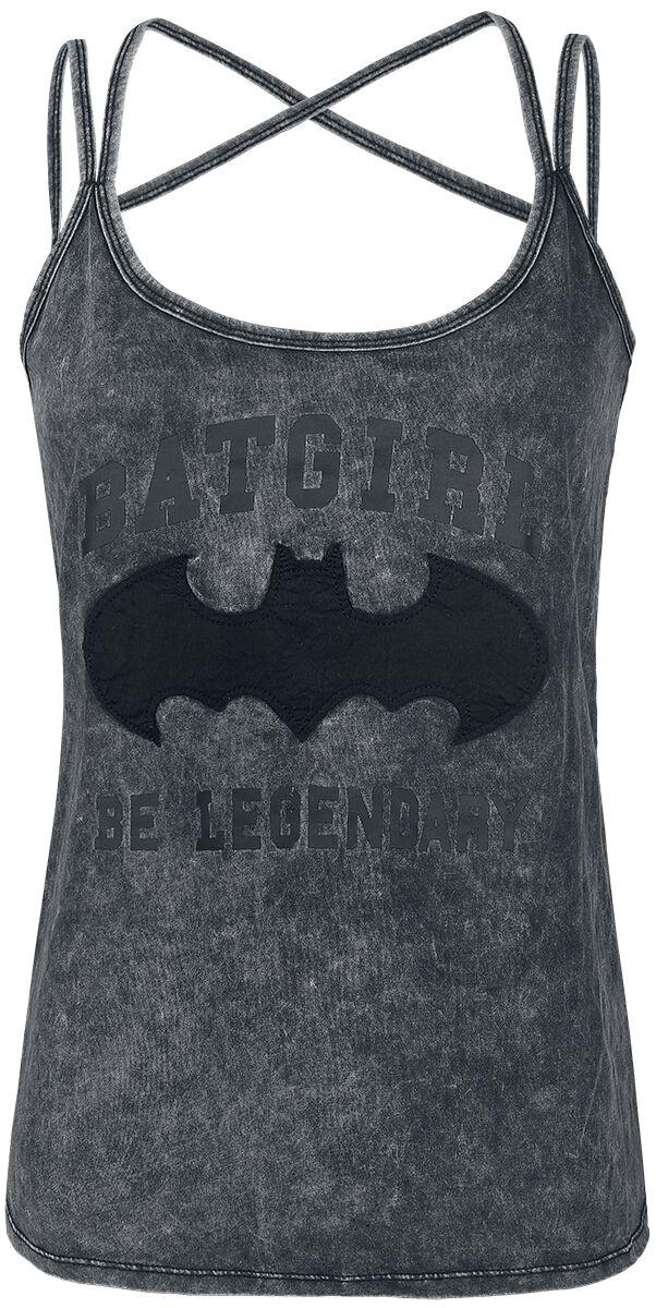 Image of   Batman Dark Night Girlie top mørk grålig