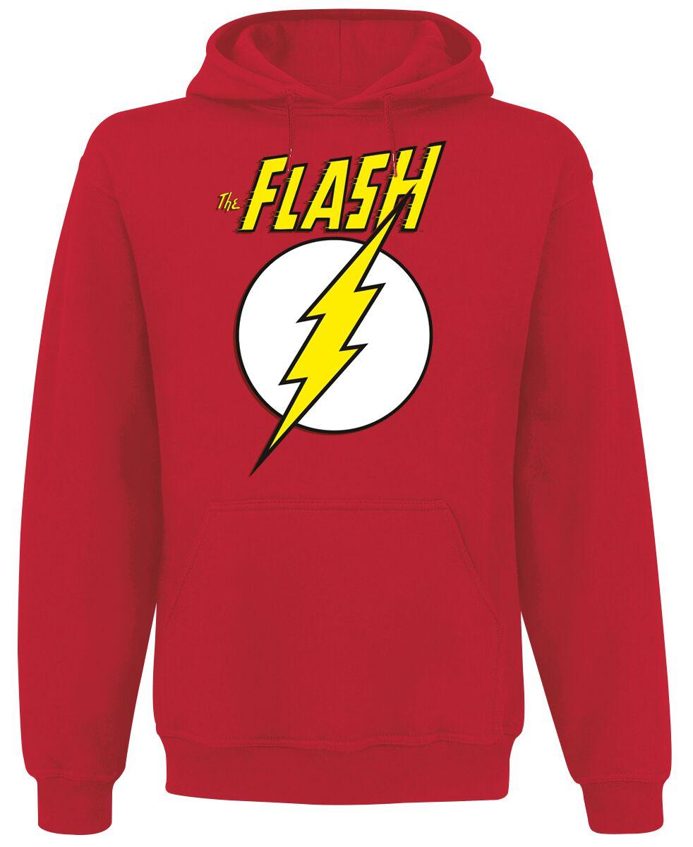 Merch dla Fanów - Bluzy z kapturem - Bluza z kapturem The Flash Logo Bluza z kapturem czerwony - 372367