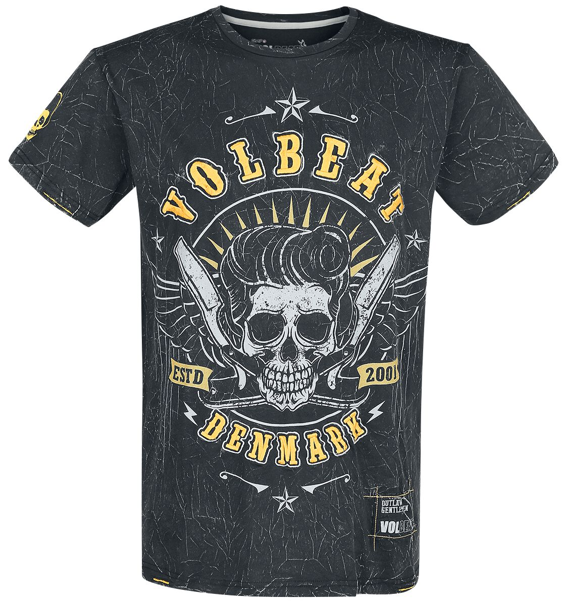 Image of   Volbeat EMP Signature Collection T-Shirt mørk grå