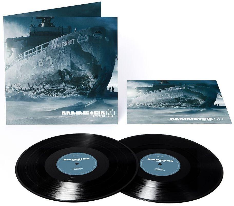 Image of   Rammstein Rosenrot 2-LP standard