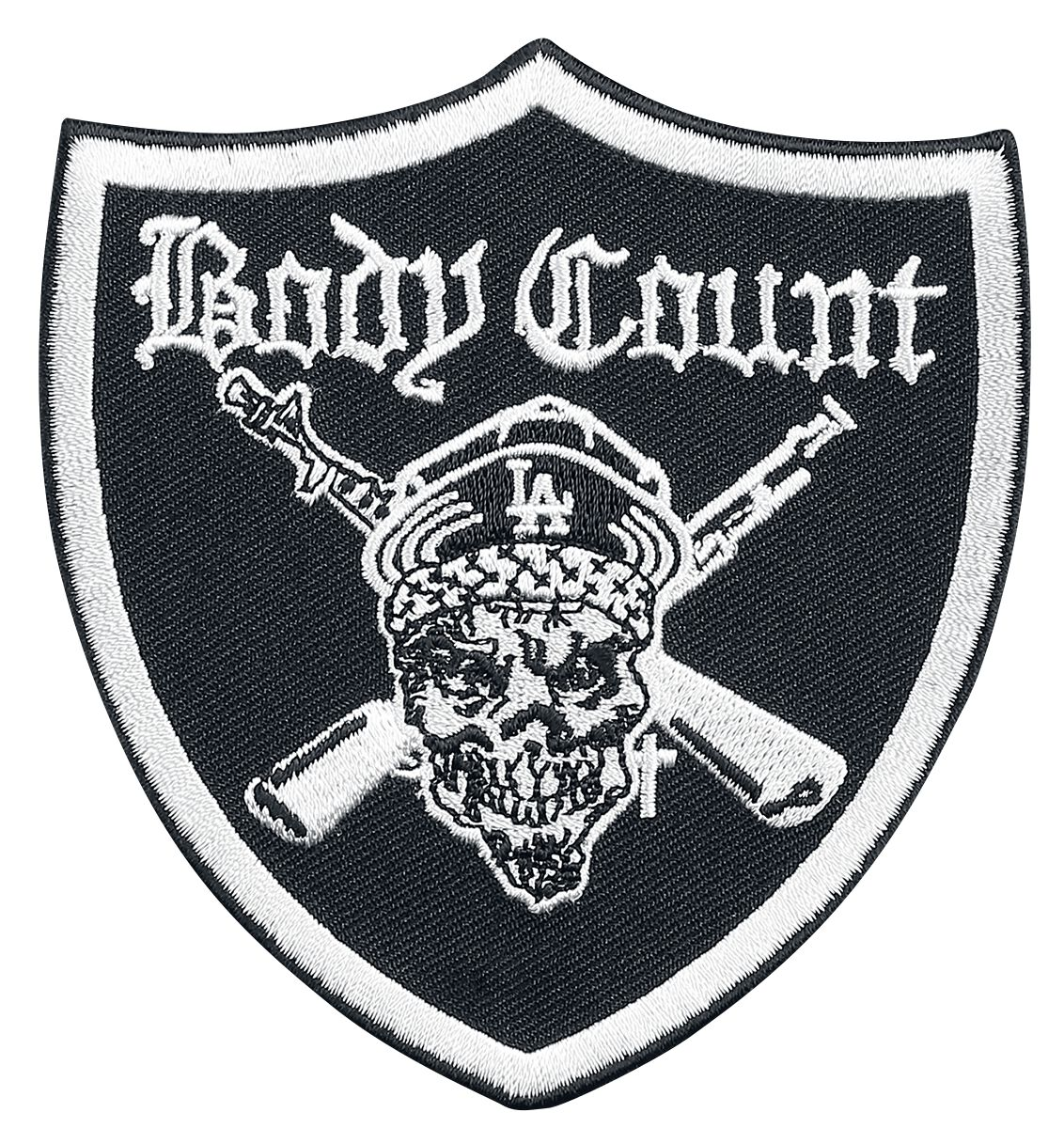 Body Count Raider Logo Patch Mehrfarbig