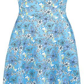 Alice Au Pays Des Merveilles Floral Retro Robe multicolore