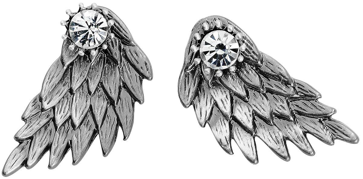 Marki - Kolczyki - Kolczyki - Earpin Wildkitten Silver Wing Kolczyki - Earpin srebrny - 372422