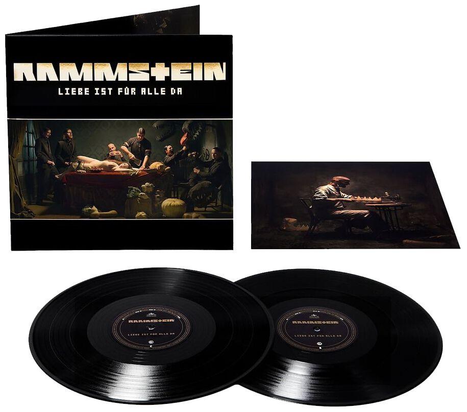 Image of   Rammstein Liebe ist für alle da 2-LP standard