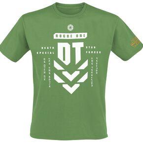Star Wars Rogue One - L'Étoile De La Mort T-shirt vert