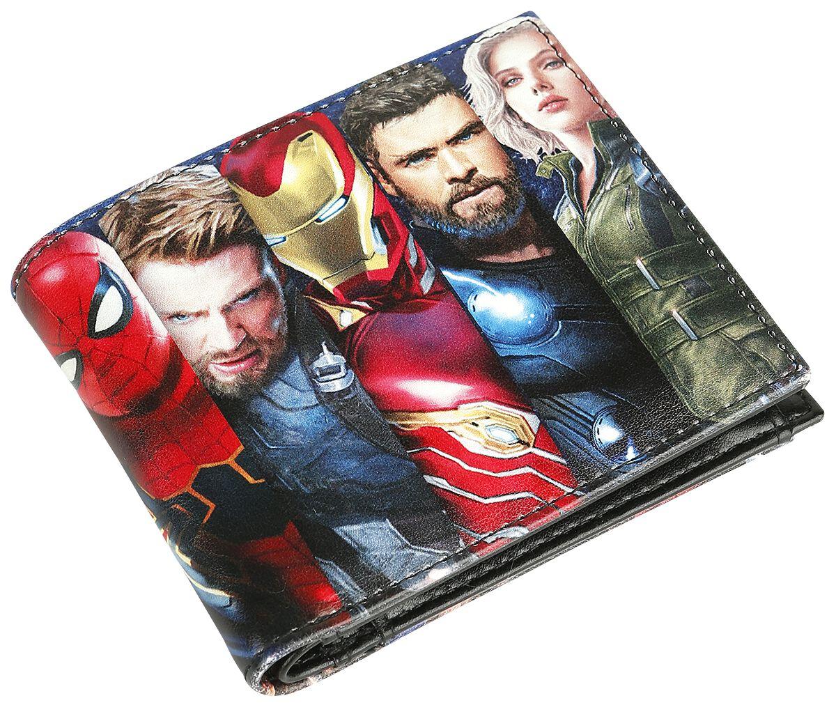 Merch dla Fanów - Portfele - Portfel Avengers Infinity War Portfel wielokolorowy - 372535