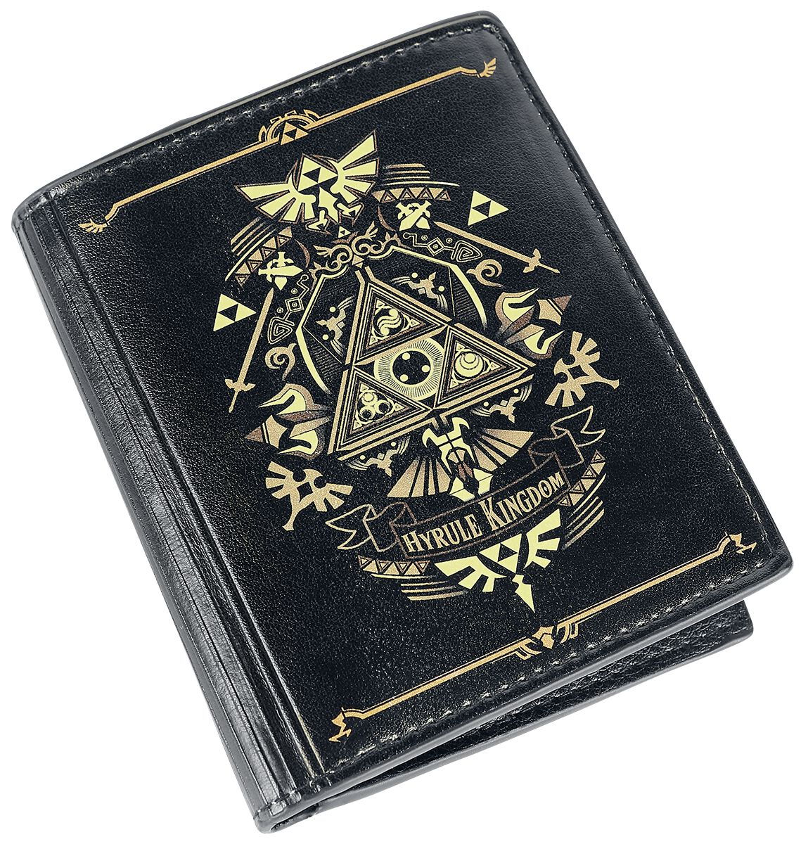 Image of   The Legend Of Zelda Hyrule Kingdom Pung sort-guld