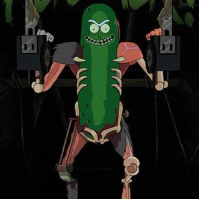 Rick and Morty Pickle Rick Maxi Poster 61 x 91.5cm