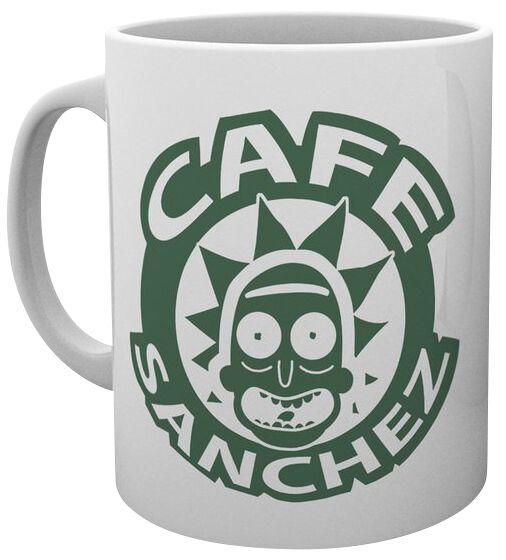 Image of   Rick And Morty Cafe Sanchez Krus multifarvet