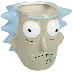 Rick & Morty Rick Sanchez - 3D Mug multicolore