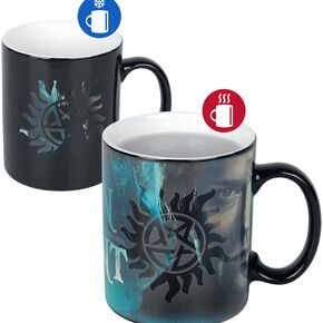 Supernatural Sam et Dean - Mug Thermoréactif Mug multicolore