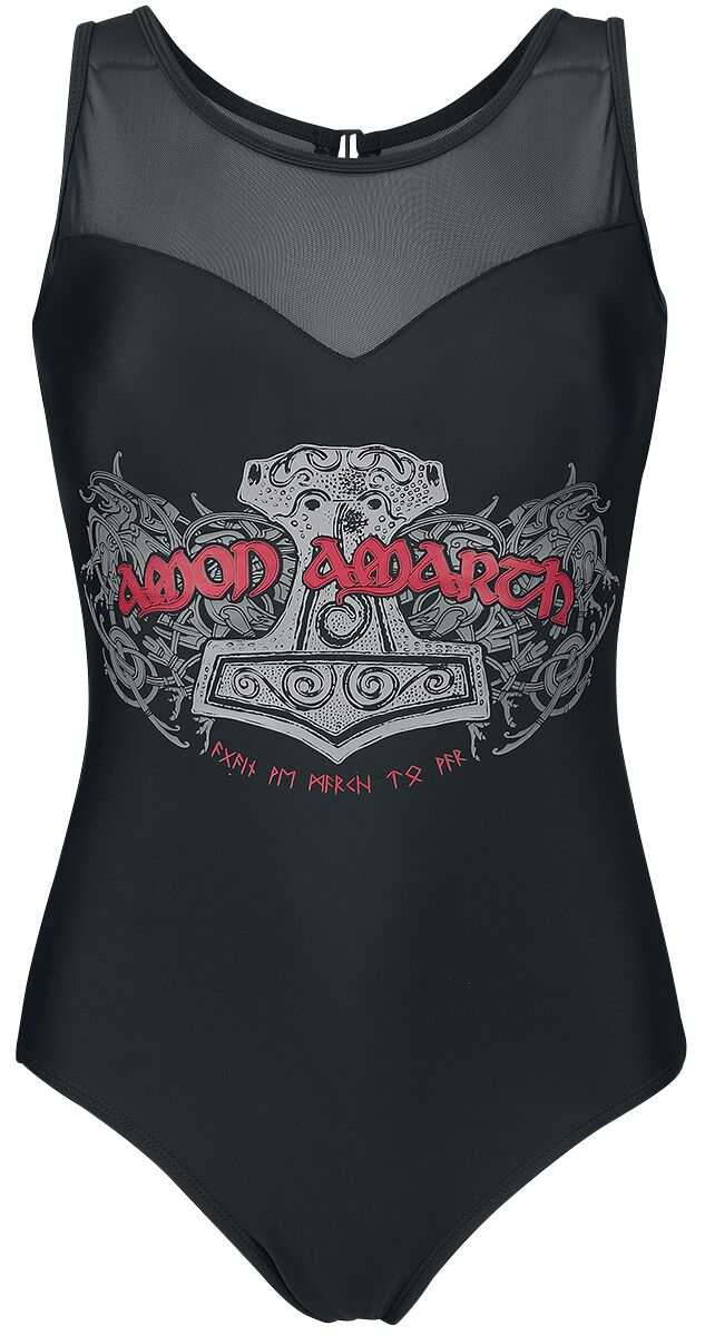 Image of   Amon Amarth EMP Signature Collection Badedragt sort