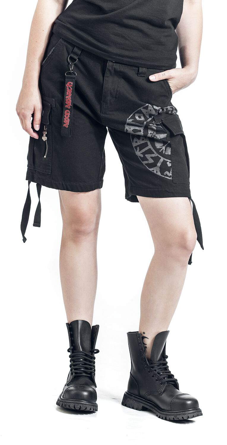 Image of   Amon Amarth EMP Signature Collection Girlie shorts sort