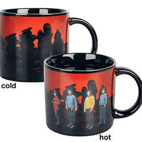 Star Trek Transporter - Heat-Change Mug Mug transparent
