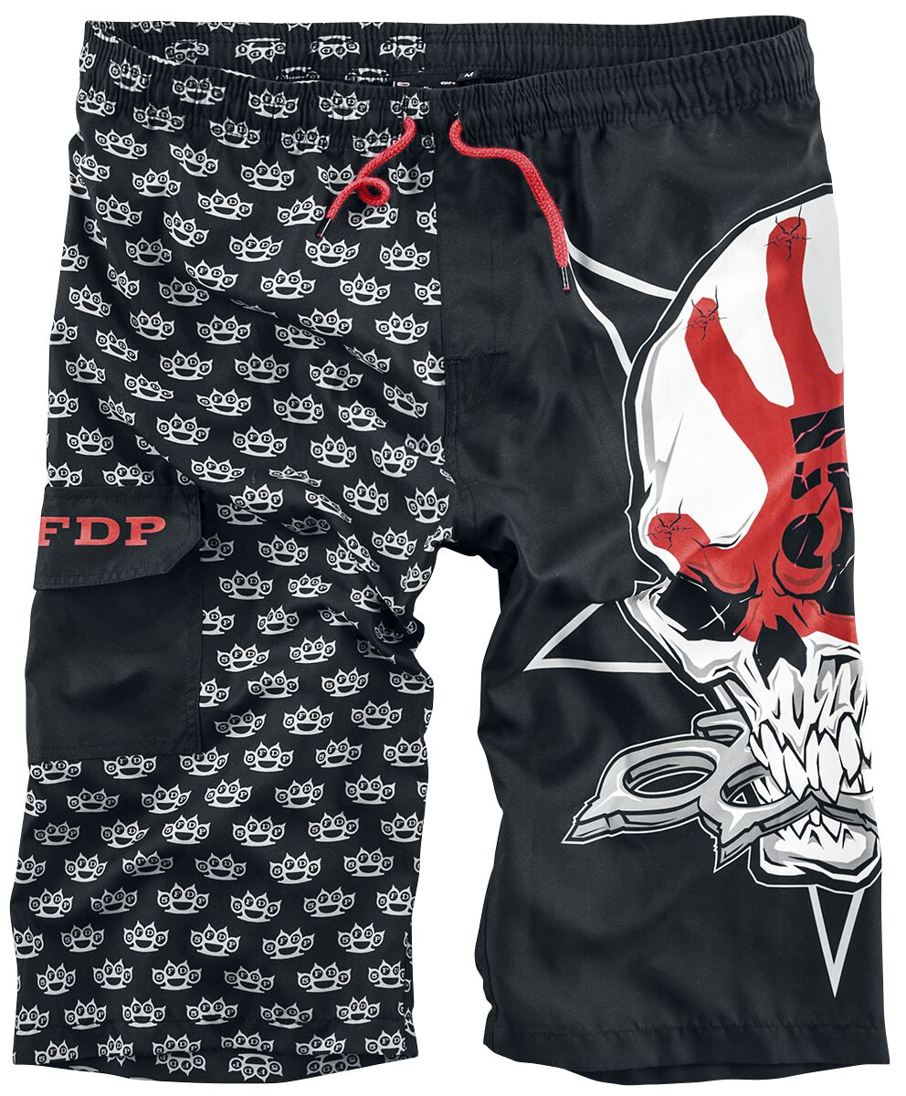 Image of   Five Finger Death Punch EMP Signature Collection Badeshorts sort