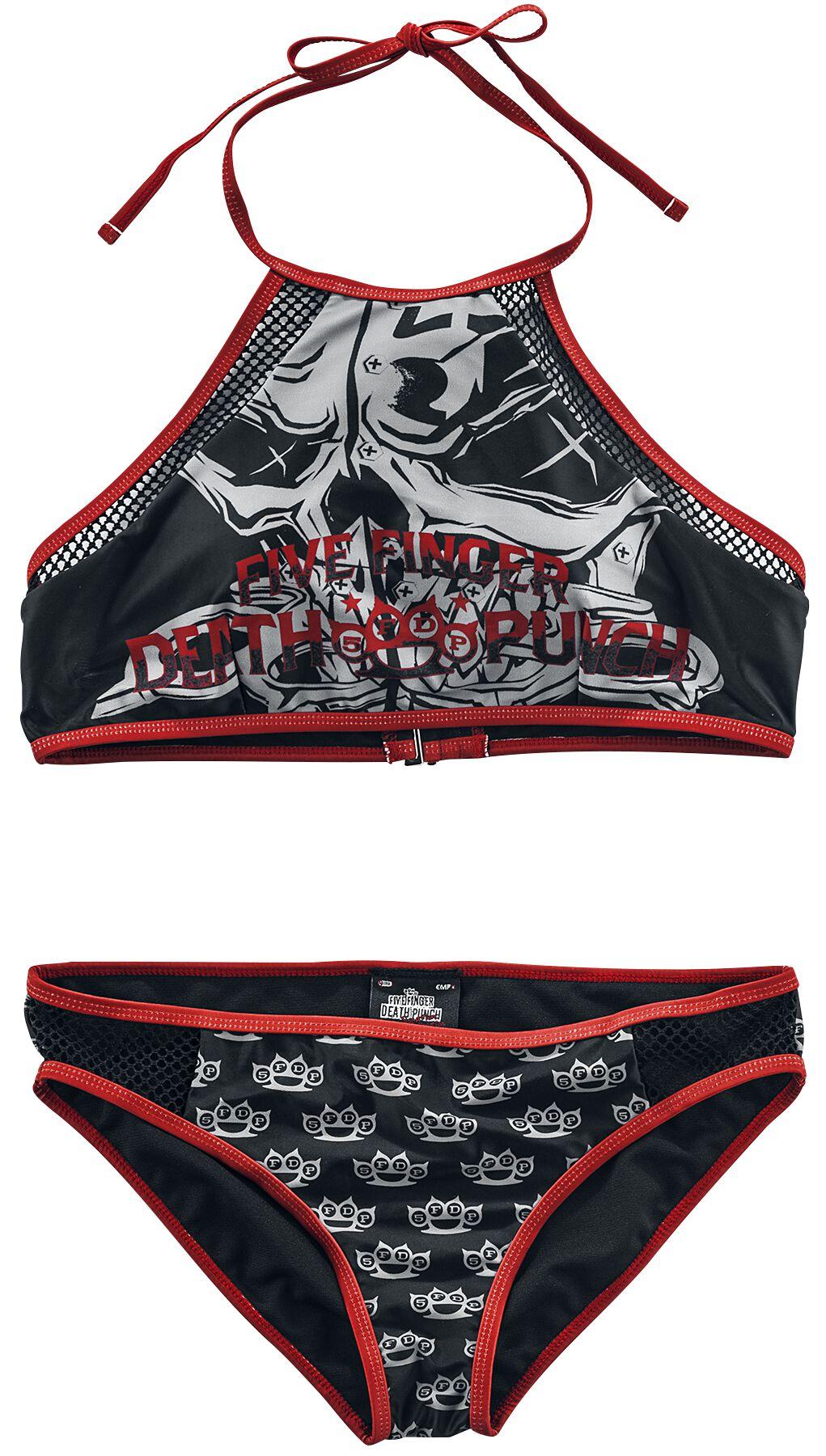 Image of   Five Finger Death Punch EMP Signature Collection Bikini sort