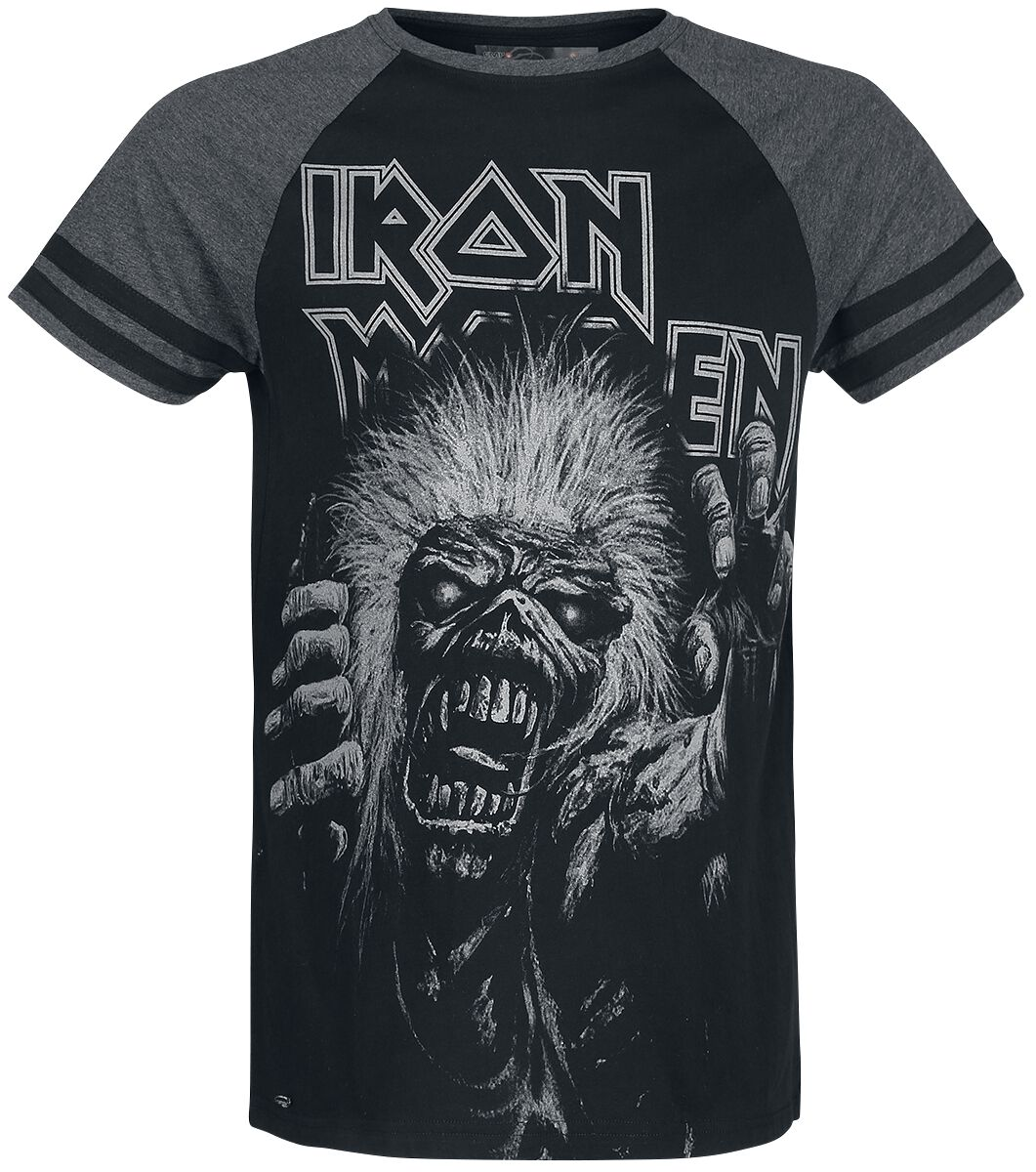 Image of   Iron Maiden EMP Signature Collection T-Shirt meleret sort-gå