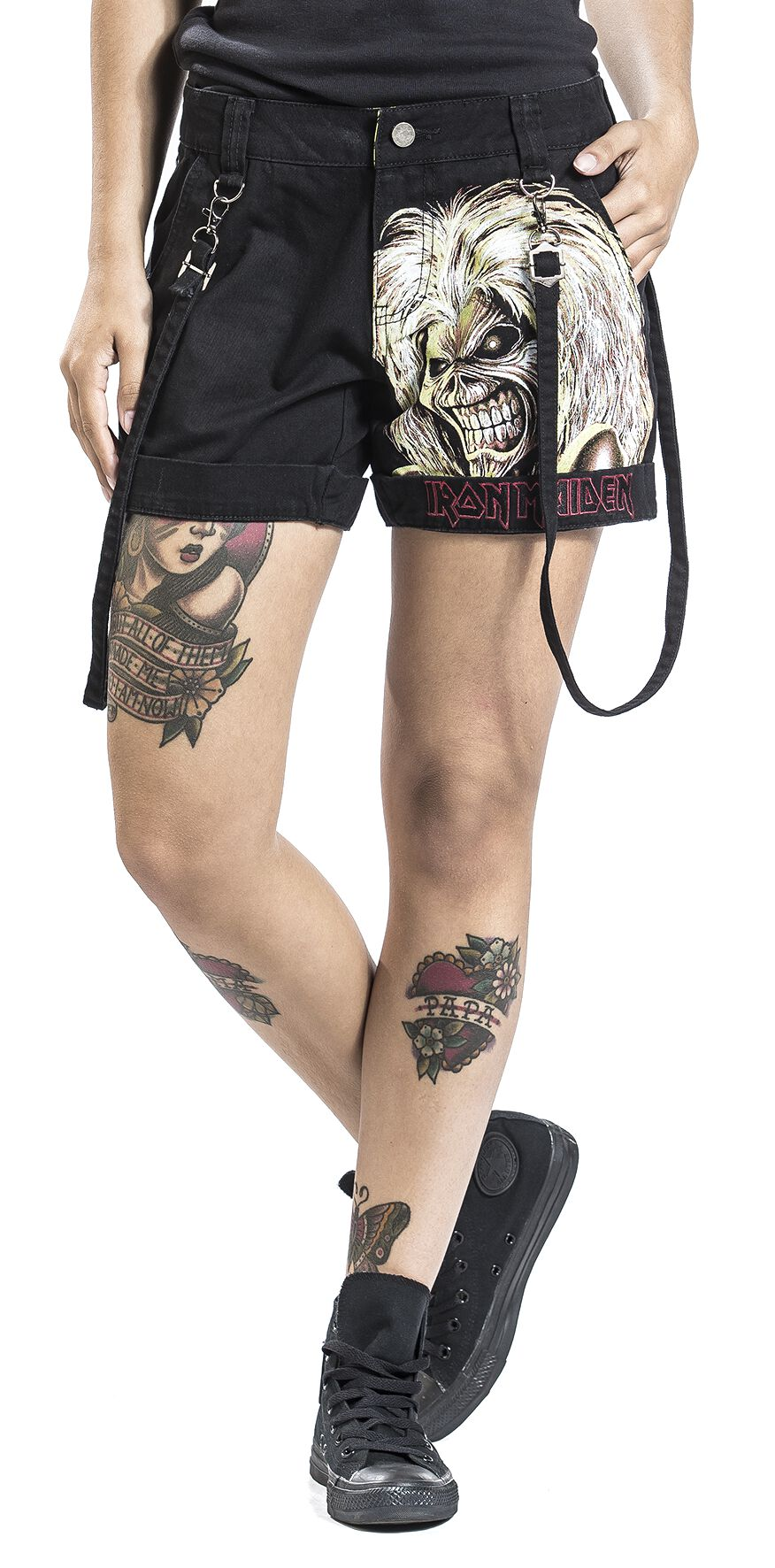 Image of   Iron Maiden EMP Signature Collection Girlie shorts sort