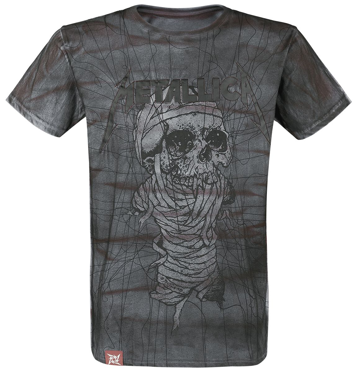 Image of   Metallica EMP Signature Collection T-Shirt grå-bordeaux
