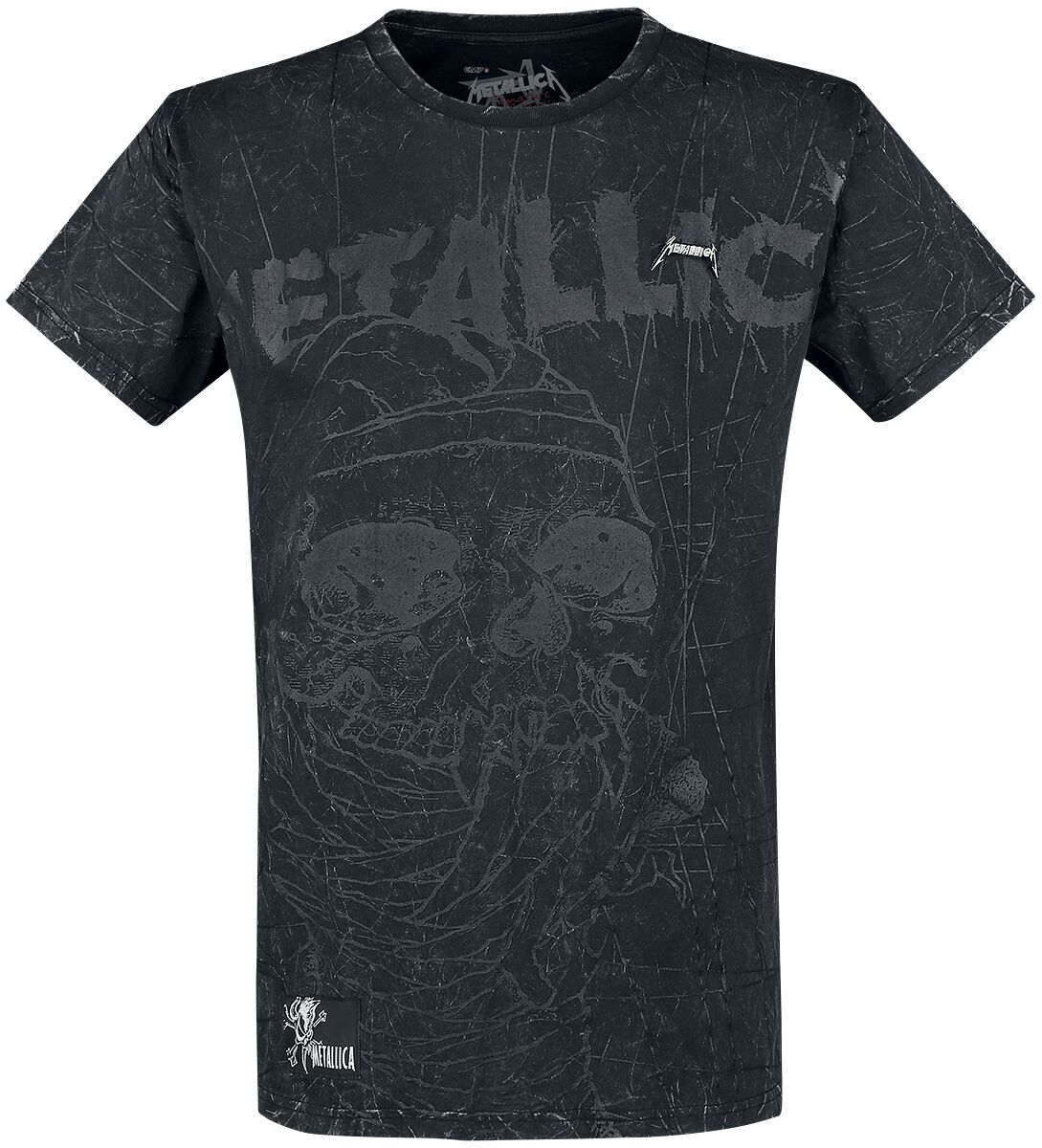 Image of   Metallica EMP Signature Collection T-Shirt mørk grå