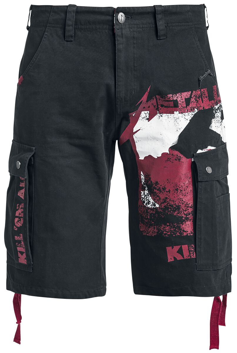 Image of   Metallica EMP Signature Collection Shorts sort
