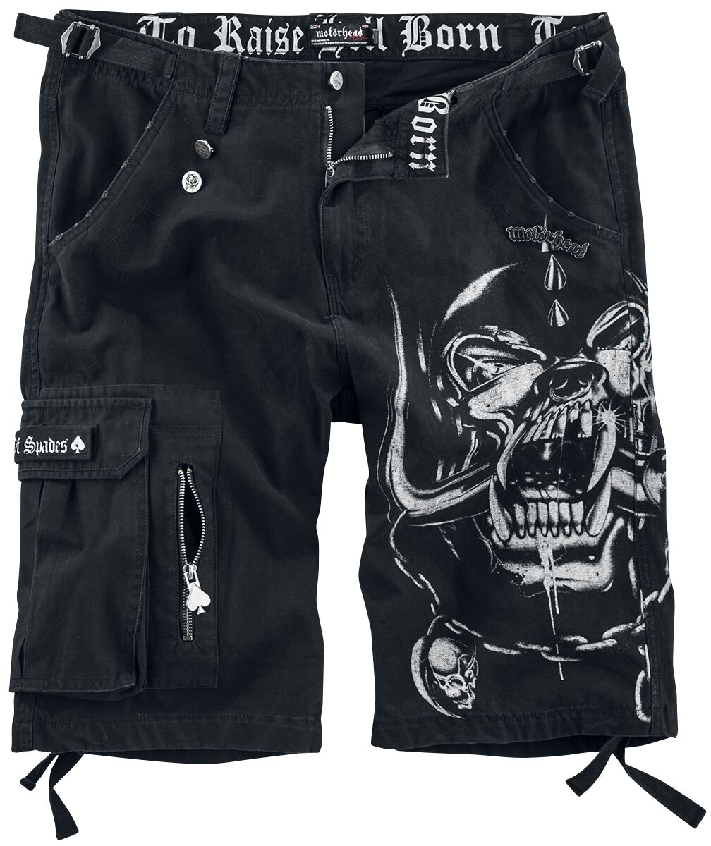 Image of   Motörhead EMP Signature Collection Shorts sort