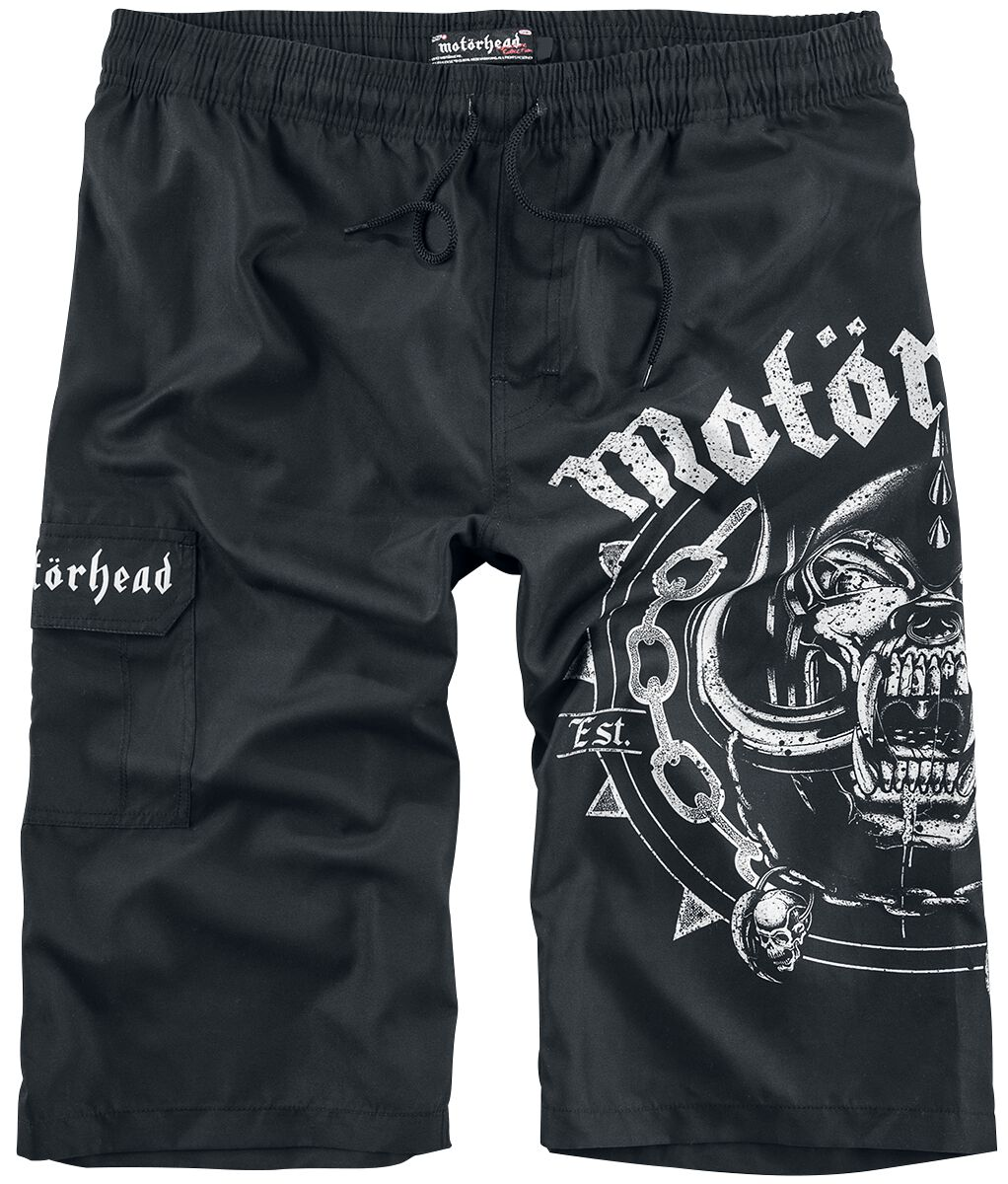 Image of   Motörhead EMP Signature Collection Badeshorts sort