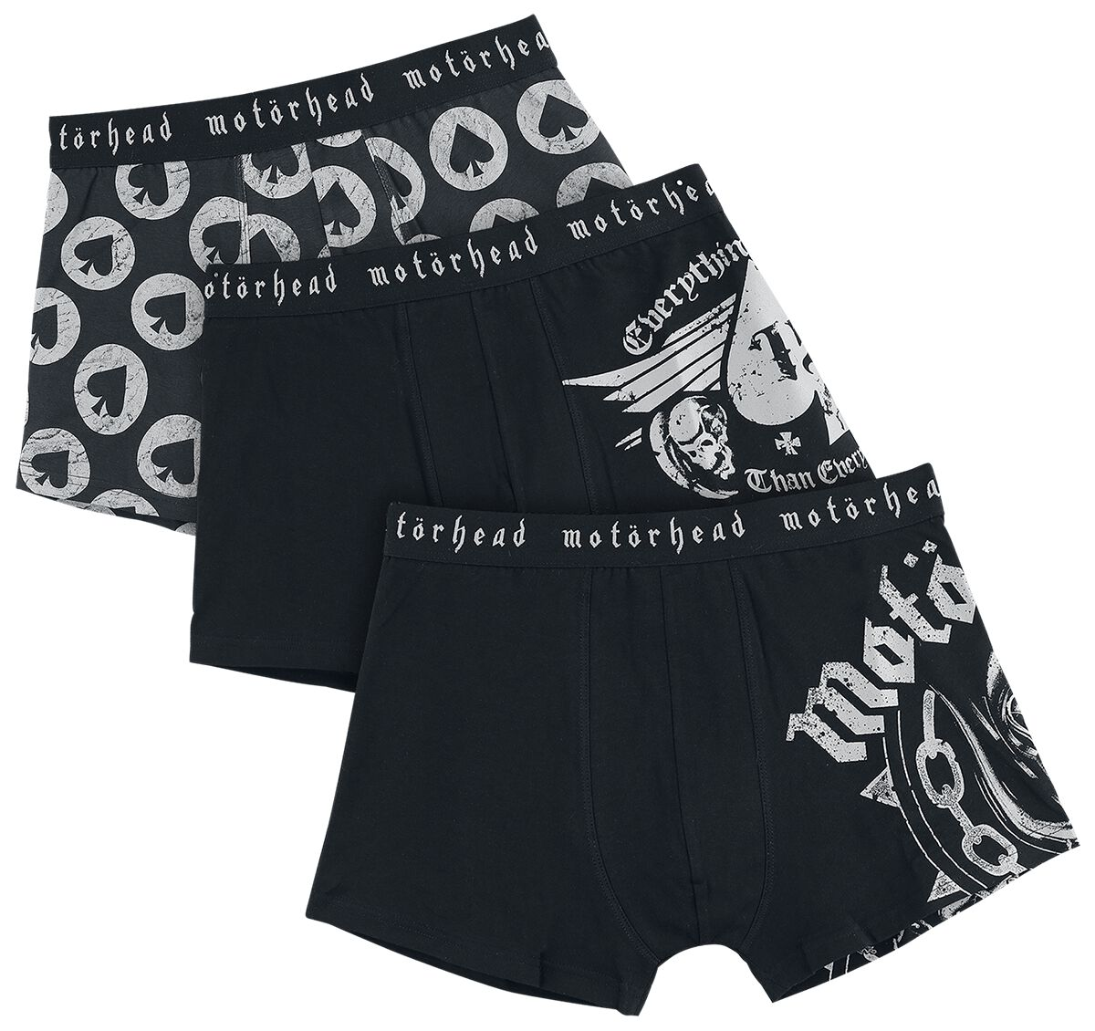 Image of   Motörhead EMP Signature Collection Boxershorts sort