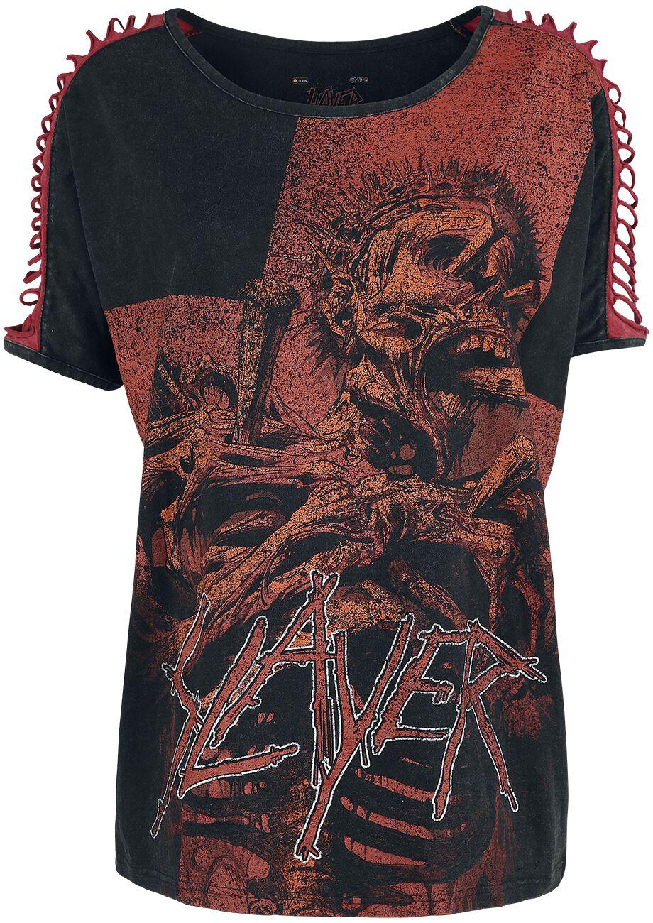 Image of   Slayer EMP Signature Collection Girlie trøje sort-rød
