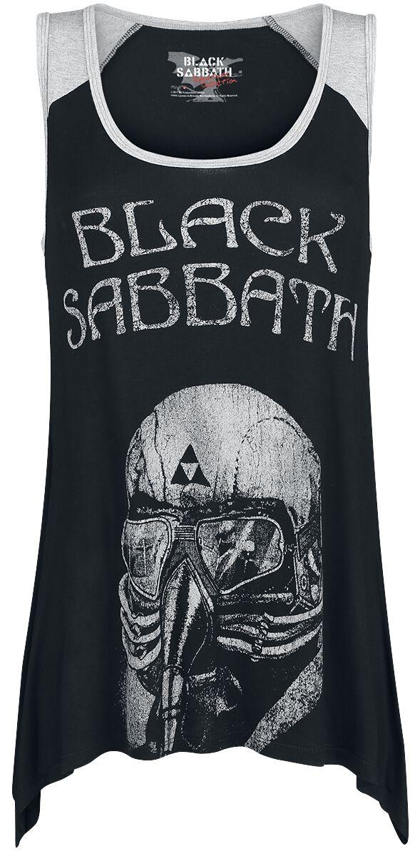 Image of   Black Sabbath EMP Signature Collection Girlie top meleret sort-gå