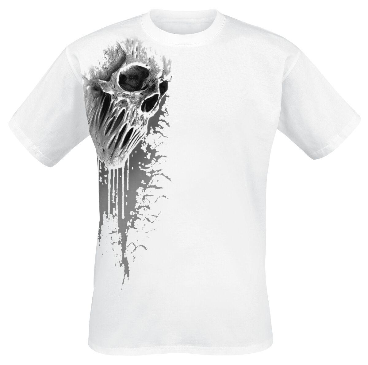 Image of   Spiral Bat Curse T-Shirt hvid