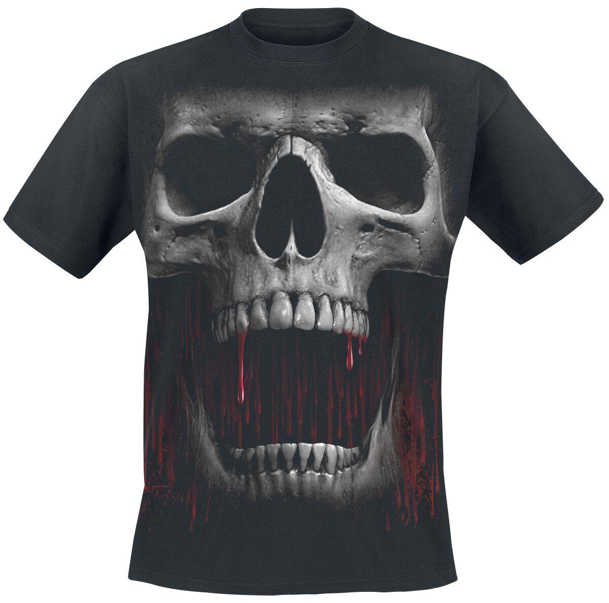 Image of   Spiral Death Roar T-Shirt sort