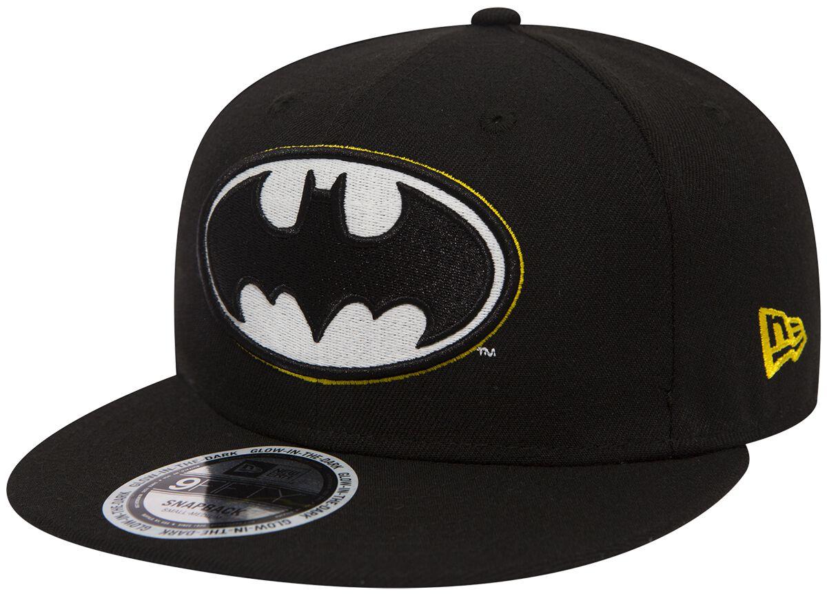 Basics - Czapki i Kapelusze - Czapka New Era New Era 9Fifty GITD Batman Czapka New Era czarny - 372858