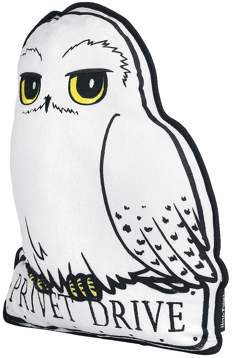 Harry Potter - Hedwig - Kissen - weiß