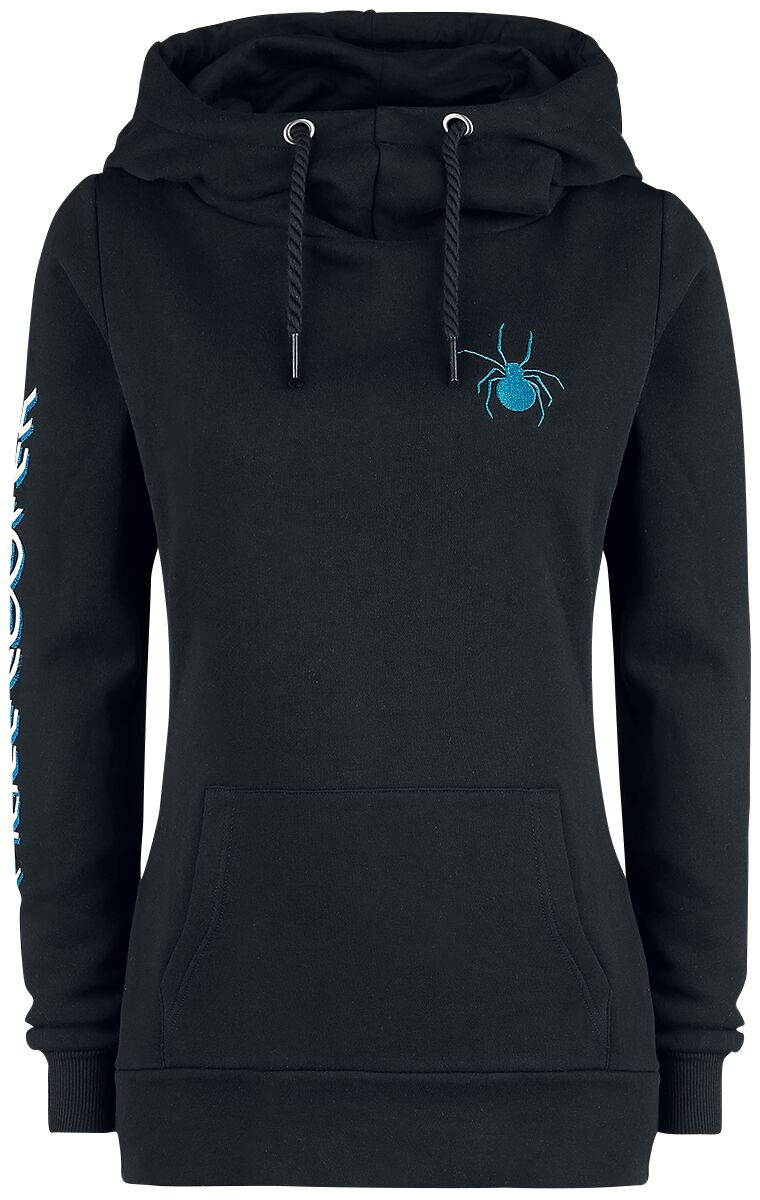 Zespoły - Bluzy z kapturem - Bluza z kapturem damska Alice Cooper EMP Signature Collection Bluza z kapturem damska czarny - 372884