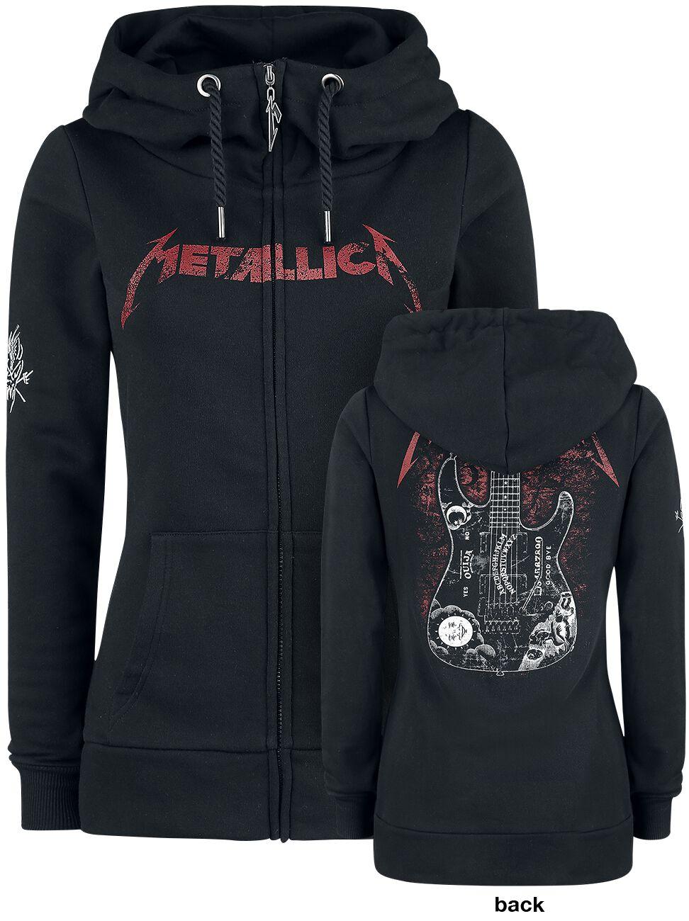 Image of   Metallica EMP Signature Collection Girlie hættejakke sort