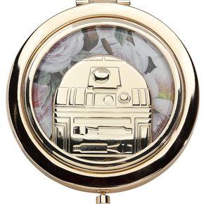 Star Wars Loungefly - R2-D2 Miroir de poche couleur or