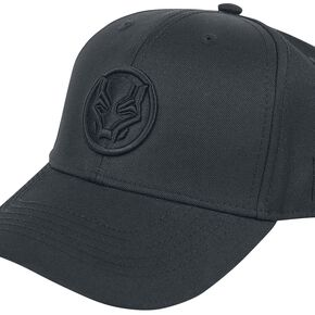 Marvel Black Panther Men's Curved Bill Cap - Grey