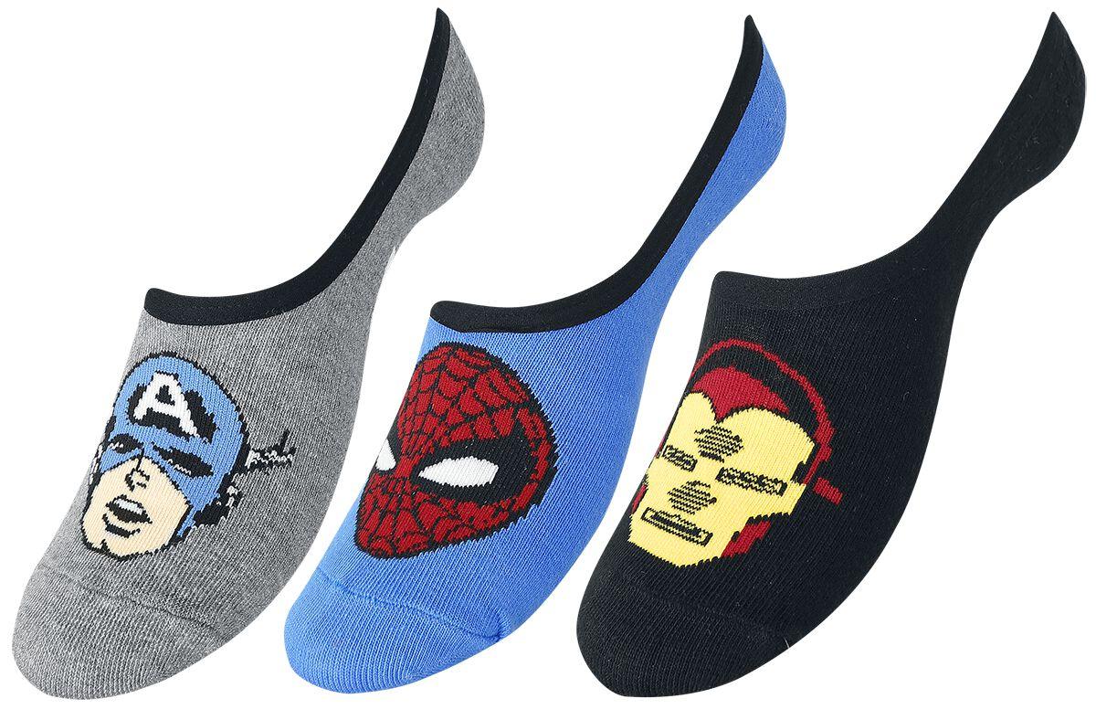 Socken für Frauen - Vans Marvel Avengers Strümpfe multicolor  - Onlineshop EMP