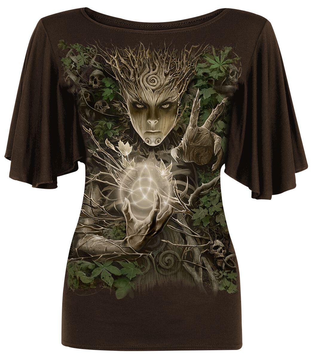 Spiral Oak Princess Koszulka damska brązowy