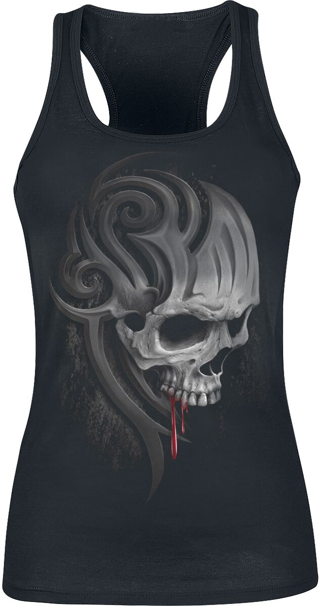 Image of   Spiral Death Roar Girlie top sort
