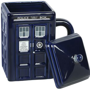 Doctor Who Tardis With Lid Mug multicolore